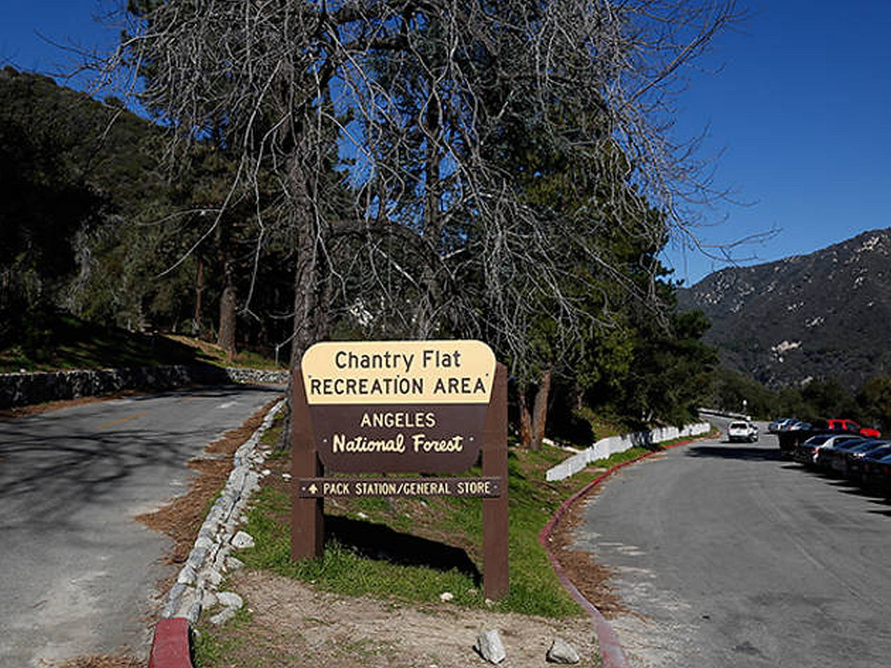 Big Santa Anita Chantry Flat Picnic Area